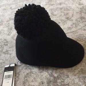 BcbgMaxazria black hat with pompom